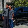 Rap artist Dr. Dre's new custom Cadillac is a paradise on wheels