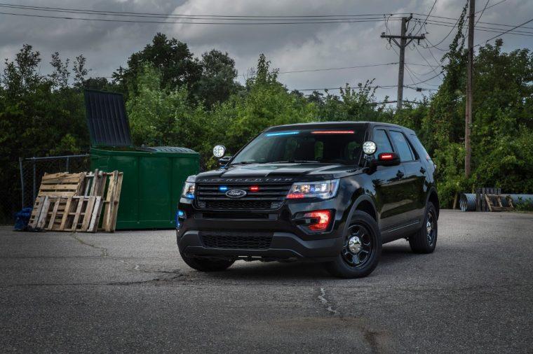 2017 Ford Police Interceptor Visor Light Bar