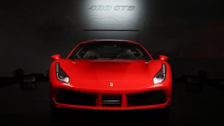 Ferrari 488 GTB Frontview
