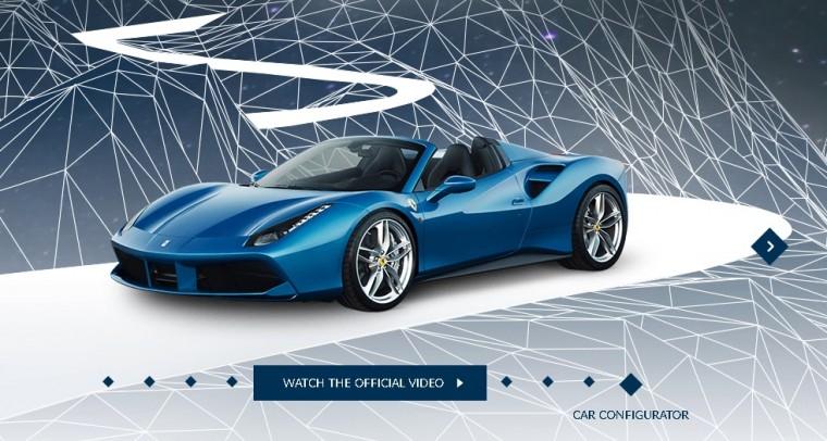 Ferrari 488 Spider Homepage