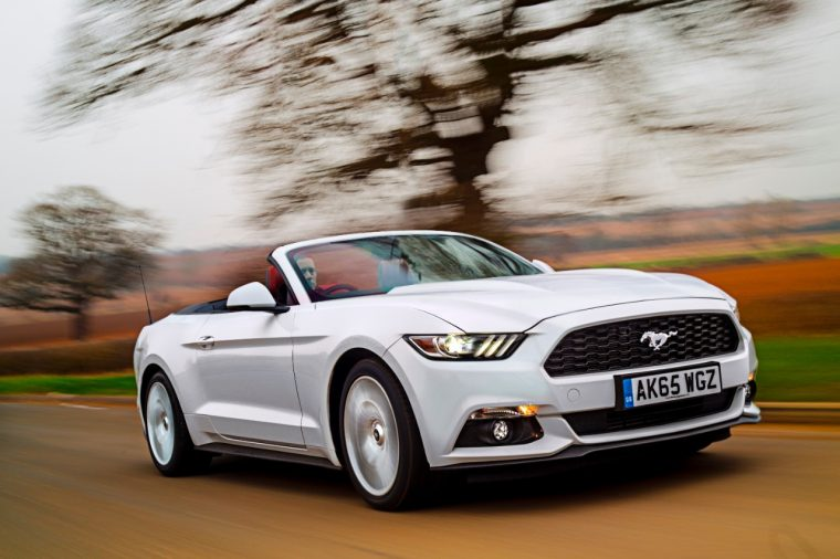 2016 Ford Mustang convertible UK