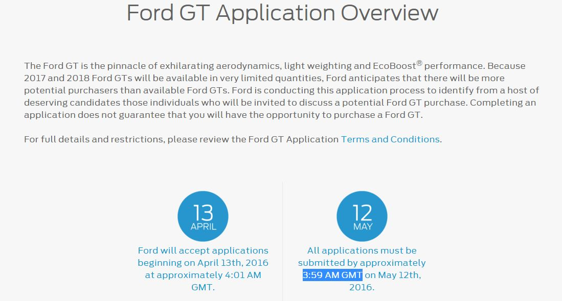 Ford Gt Application By Ford Gt Application Overview The News Wheel