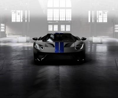 Ford GT Lightning Blue Stripes