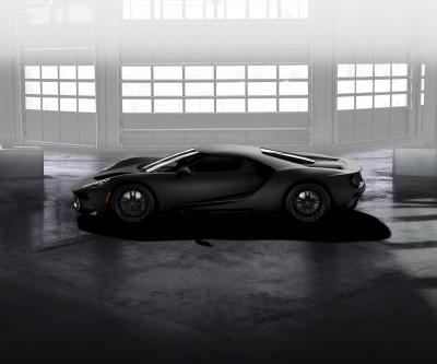 Ford GT Matte Black