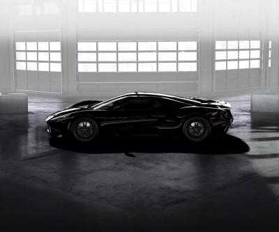 Ford GT Shadow Black