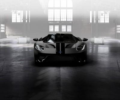 Ford GT Shadow Black Stripes