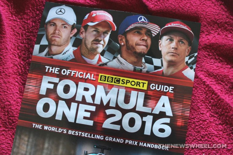 Formula One 2016  BBC Sport Guide book review