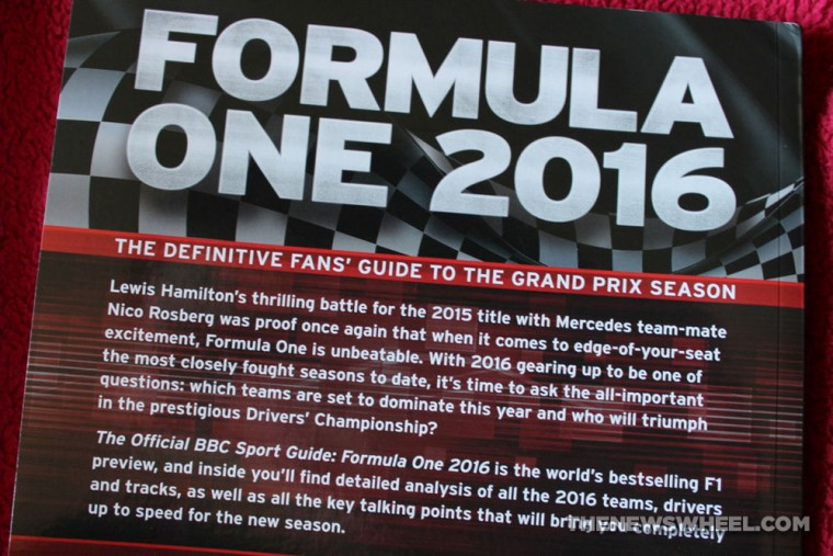Formula One 2016  BBC Sport Guide book review cover
