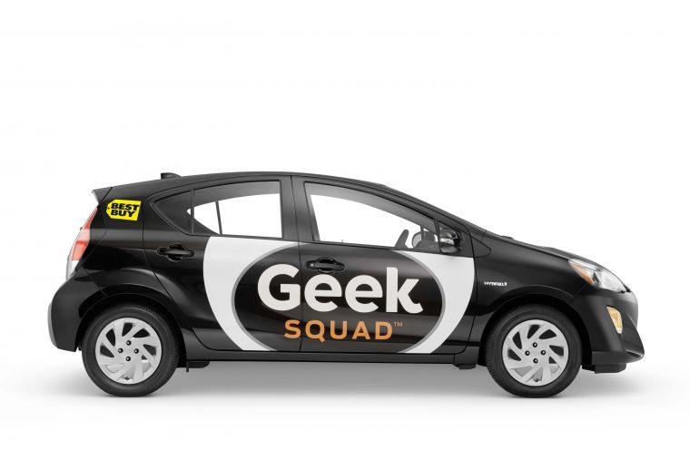 geek squad toyota prius c geekmobile