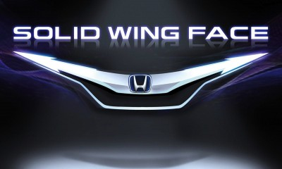 Honda Solid Wing Face Identity Design explained