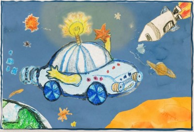 Hyundai Brilliant Kids Motor Show children's drawing entry