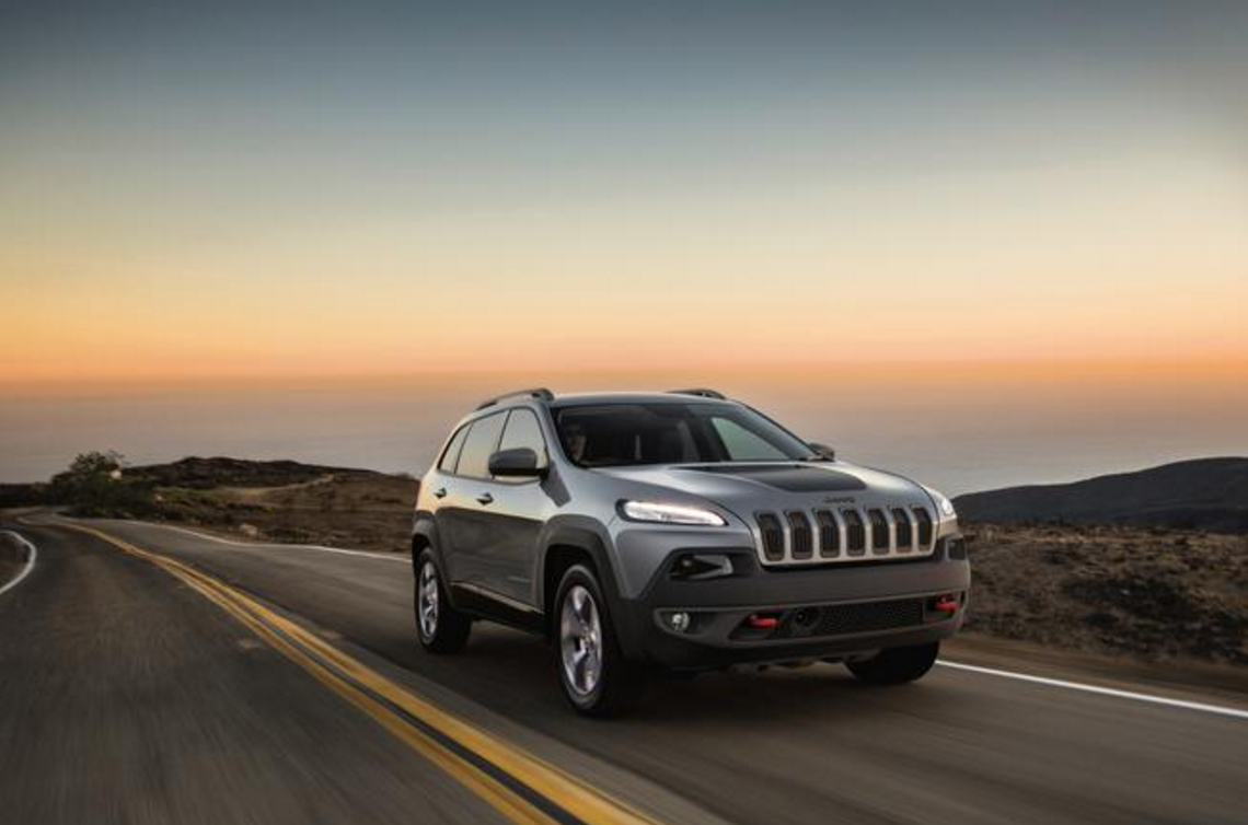 2016 jeep cherokee trailhawk first gas powered american made vehicle to qualify for japan eco. Black Bedroom Furniture Sets. Home Design Ideas