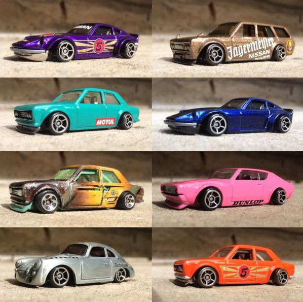 Jun Imai Hot Wheels