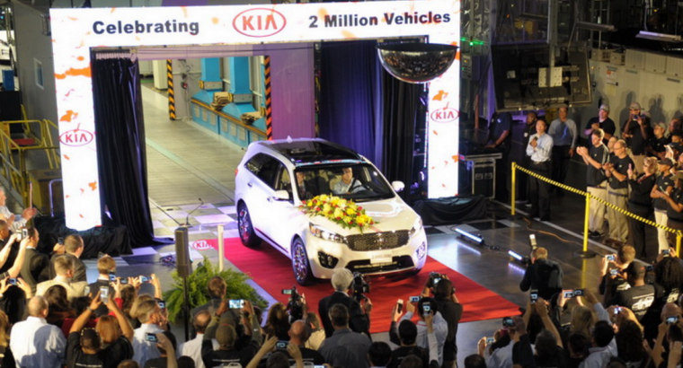 Kia Two-Millionth Vehicle Produced