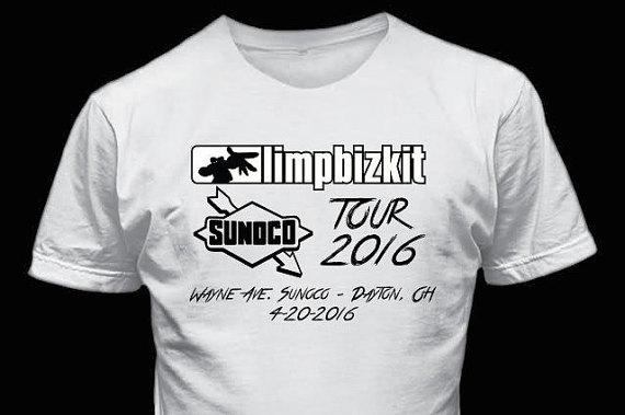 Limp Bizkit Dayton Ohio tour shirt