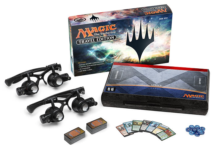 Magic the Gathering Travel Edition ThinkGeek April Fools