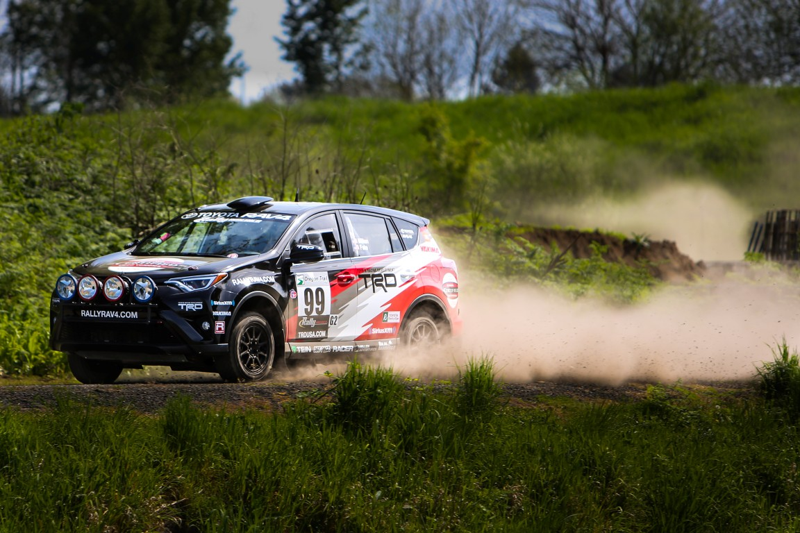Revamped Toyota Rally ...