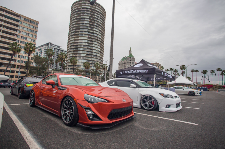 Scion-only car show