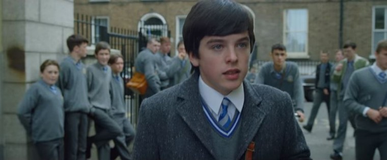 Ferdia Walsh-Peelo as Connor in <em>Sing Street</em>