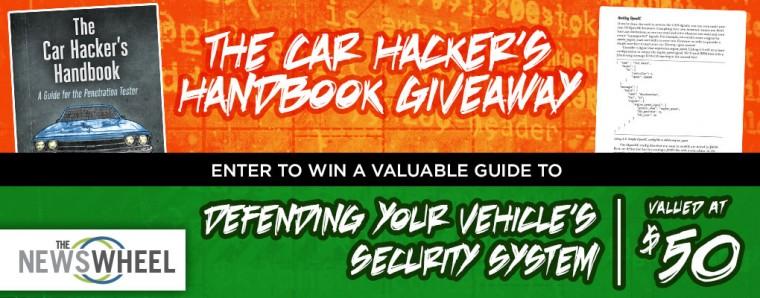 Car Hacker Handbook Giveaway banner