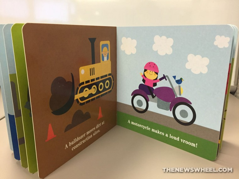 things that go vroom board book review