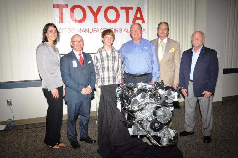Toyota Alabama Engine Donation