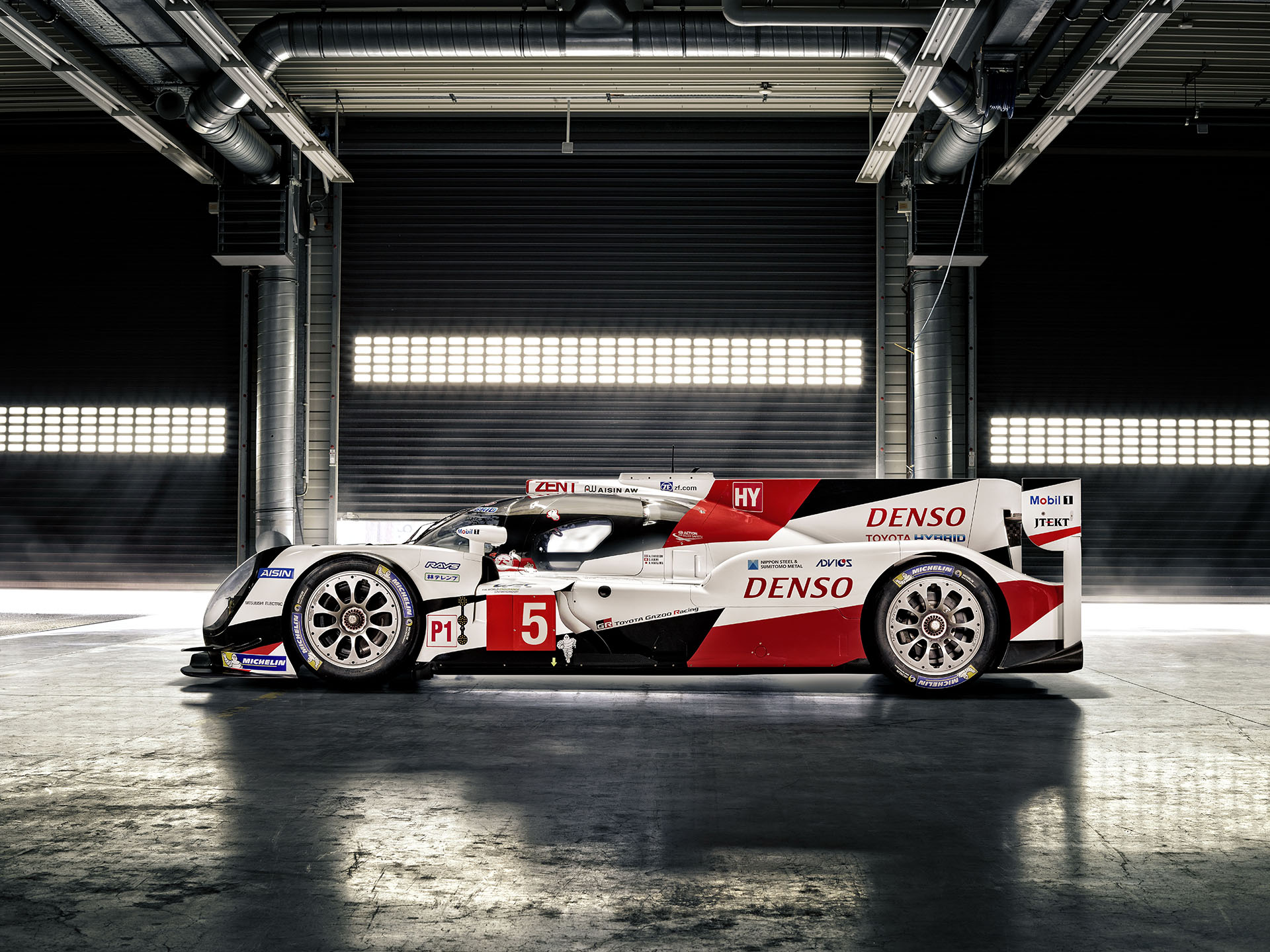 New Toyota TS050 Hybrid Race Car Coming to WEC Competition - The ...