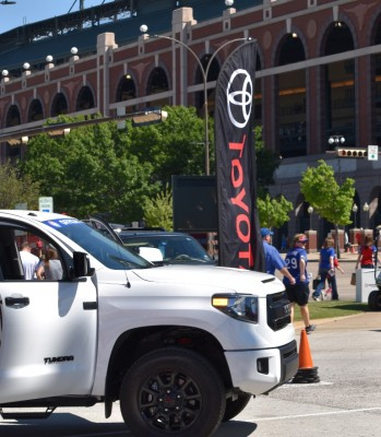 The  Toyota-Texas Rangers partnership extends through 2018