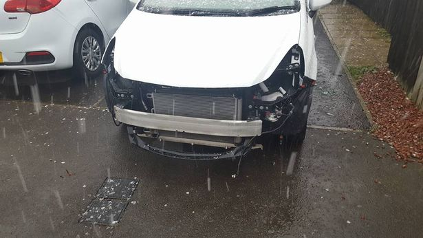 Vauxhall Corsa Front theft