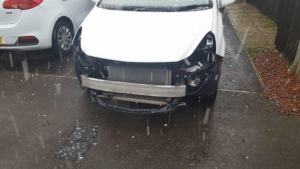 Vauxhall Corsa Front theft