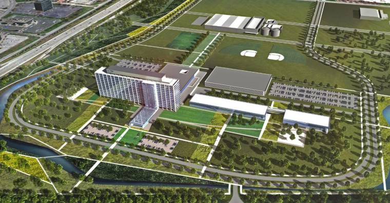 Rendering of Ford World Headquarters Campus
