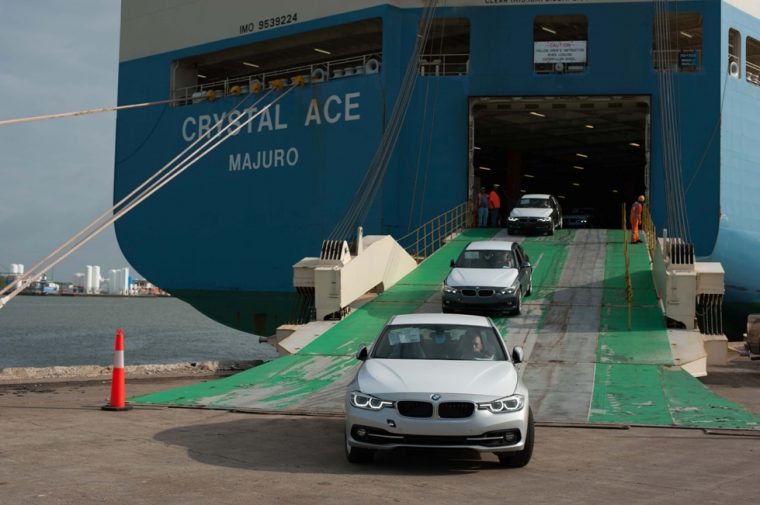 BMW Galveston Vehicle Distribution Center