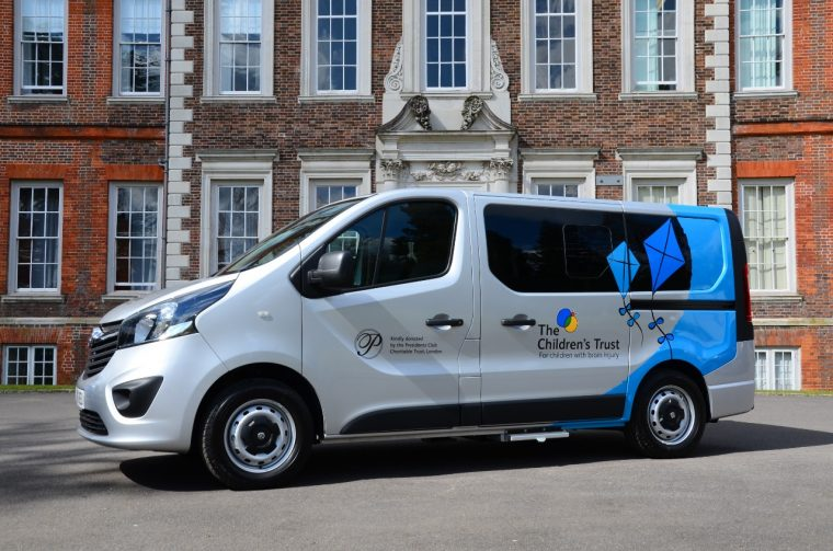 Vauxhall Vivaro added to The Children's Trust fleet