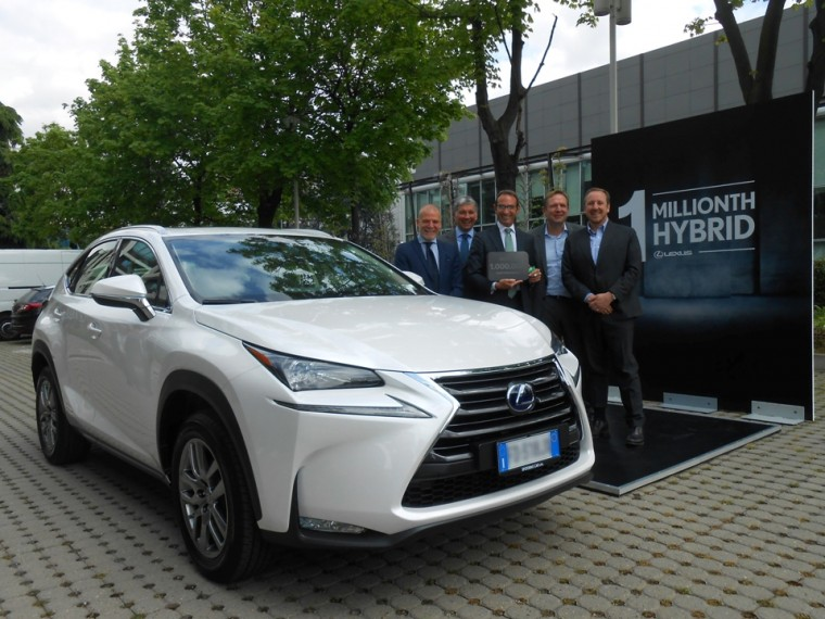 1 millionth lexus hybrid