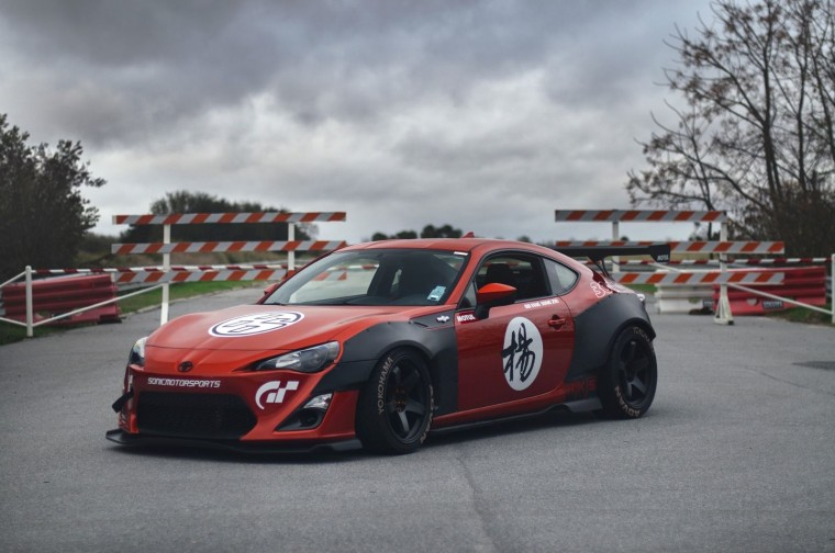 scion fr s rocket bunny wheel autos weblog. Black Bedroom Furniture Sets. Home Design Ideas