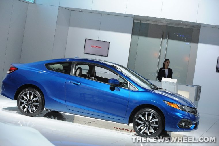 The 2015 Honda Civic Coupe received a five star overall safety rating from the NHTSA and carries a starting MSRP of 18,290