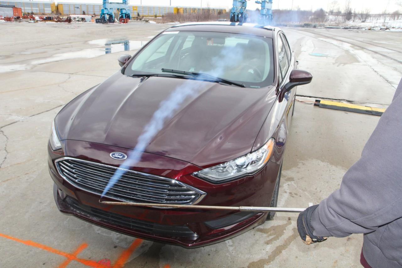 Chrysler aeroacoustic wind tunnel #5