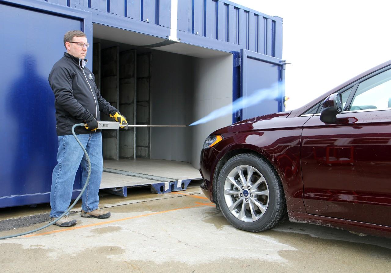 Chrysler aeroacoustic wind tunnel #4