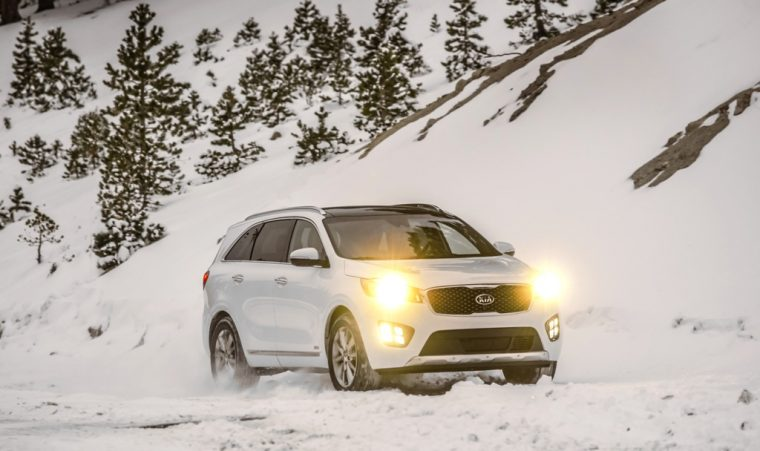2017 Kia Sorento Headlights