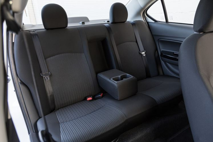 2017 Mitsubishi Mirage G4 Back Seats The News Wheel