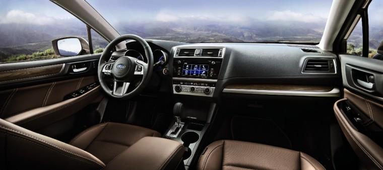 2017 Subaru Outback Touring Interior
