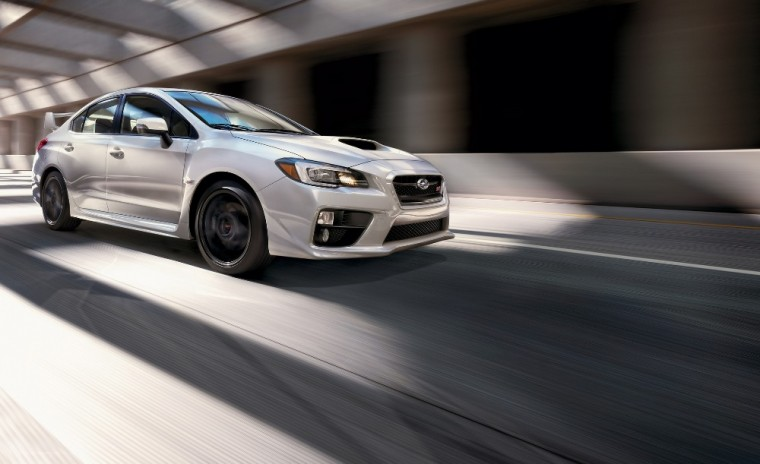 The 2017 Subaru WRX carries a starting MSRP of $26,695 and is standard with a premium headliner for the new model year