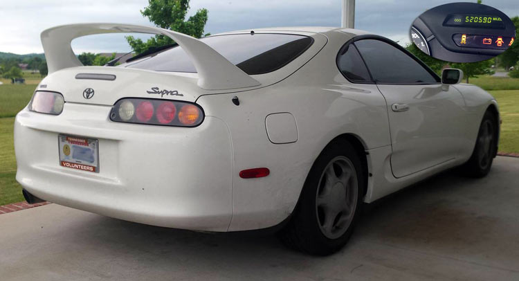 520,000 Mile Toyota Supra