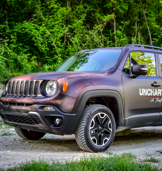 jeep renegade uncharted edition changes before your eyes. Black Bedroom Furniture Sets. Home Design Ideas