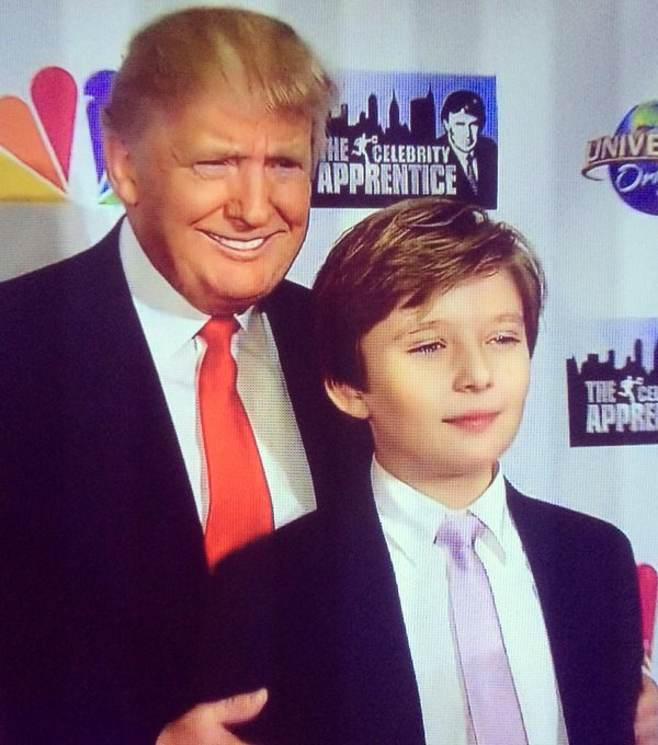 Did You Know Donald Trump Has a 10-Year-Old Son Named ...