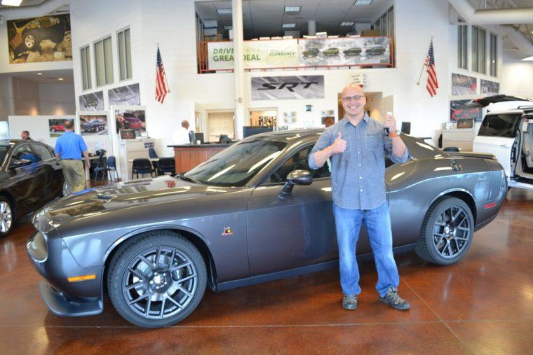 FCA 2015 National Vehicle Giveaway Winner Kevin Arias