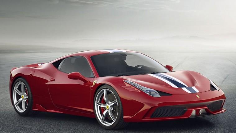 Ferrari 458 Speciale Exterior