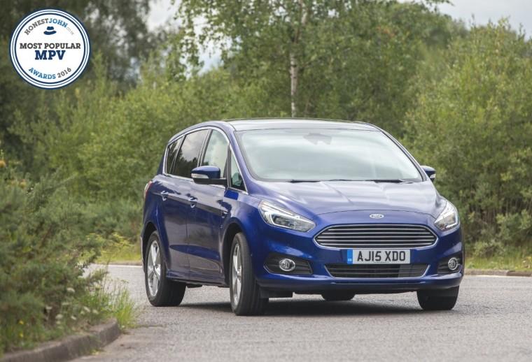 Ford S-MAX wins most popular MPV at the 2016 Honest John Awards