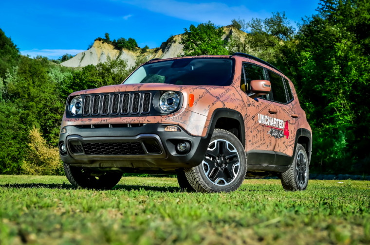 Jeep Renegade Uncharted Edition When Hot