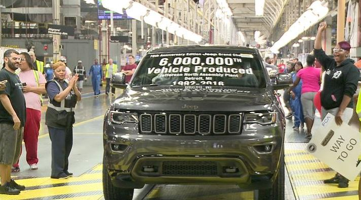 Jefferson North Assembly Plant 6 Millionth Vehicle